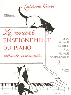 Madeleine Curie: The New Study of the Piano (Volume 2) Livre | Piano