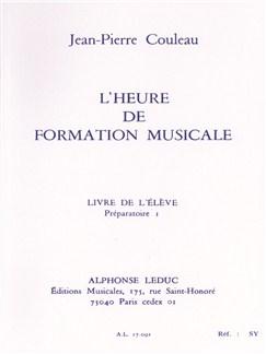 Couleau: Heure De Formation Musicale Préparatoire 1/Livre De L'élève Libro | Theory Books and Papers