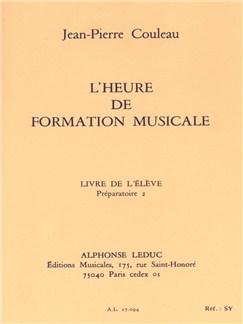 Jean-Pierre Couleau: L'Heure De Formation Musicale - Préparatoire 2/Livre De L'Élève Books | Theory Books and Papers