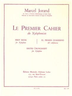 Marcel Jorand: Le Premiere Cahier Du Xylophone Libro | Xilófono
