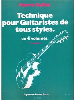 Technique pour Guitareistes tous styles vol 4/4 Livre | Guitare