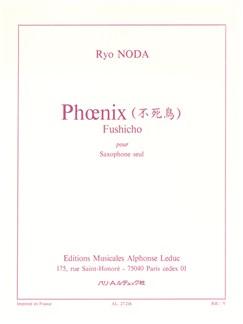 Ryo Noda: Phoenix (Fushicho) (Saxophone) Books | Saxophone