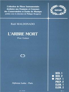 Raül Maldonado: L'Arbre Mort For Guitar Books | Guitar