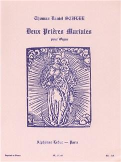 Thomas Daniel Schlee: 2 Prières mariales (Organ) Books | Organ