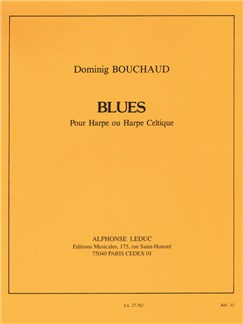 Dominig Bouchaud: Blues (Harpe) Livre | Harpe