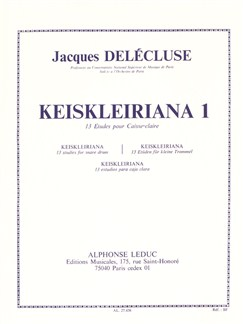 Jacques Delécluse: Kreisleriana 1 - 13 Études For Snare Drum Books | Percussion, Drums