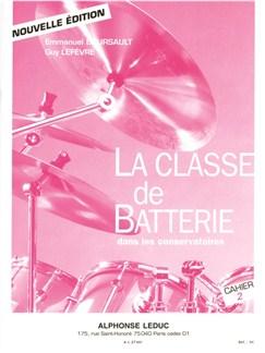 Boursault: Classe De Batterie Dans Les Conservatoires/Volume 2 Buch | Percussion