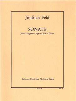 Jindřich Feld: Sonata For Soprano Saxophone And Piano Books | Soprano Saxophone, Piano Accompaniment