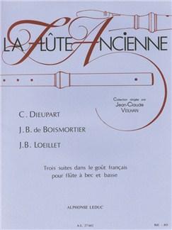 Various Composers: 3 Suites dans le Goût français (Recorder & Continuo) Books | Recorder, Continuo