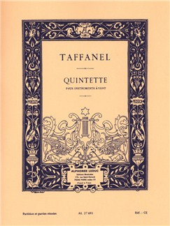 Paul Taffanel: Wind Quintet (Score/Parts) Books | Wind Quintet