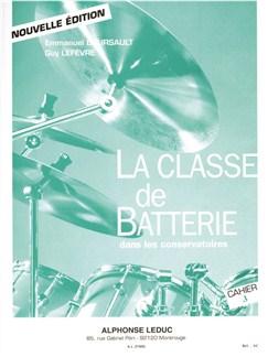 Boursault/Lefèvre: La Classe De Batterie Dans Les Conservatoires Vol.3 Libro | Percusión, Batería