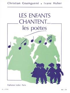Christian Gouinguené: Les Enfants Chantent... Les Poètes Libro | Voz