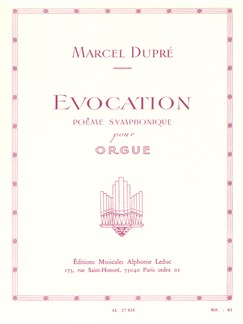 Marcel Dupré: Évocation Op.37 Books | Organ