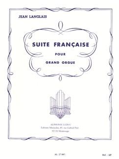 Jean Langlais: Suite Française (Organ) Books | Organ