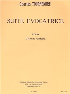 Charles Tournemire: Suite Evocatrice Books | Organ