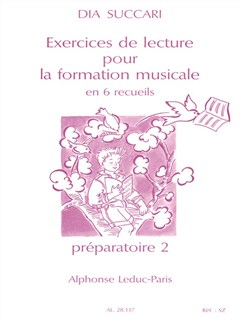 Dia Succari: Exercices De Lecture Pour La Formation Musicale - Vol. 4 Books | Theory Work Books