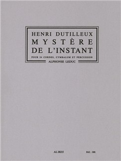 Henri Dutilleux: Mystère De l'Instant (Orchestra) Books | Orchestra