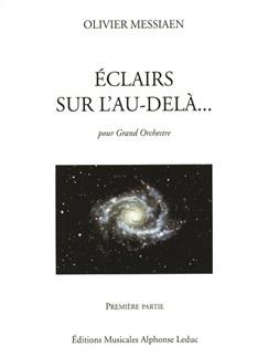 Olivier Messiaen: Eclairs Sur L'Au-Delà Vol.1 (Score) Bog | Orkester