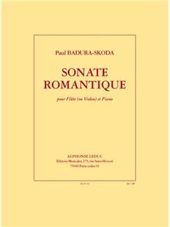 Badura-Skoda: Sonate Romantique Pour Flute Ou Violon Et Piano Books | Flute