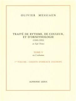 Olivier Messiaen: Traité de Rythme, de Couleur, et d'Ornithologie Vol.5/1 (Livre) Livre |