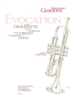 Armando Ghidoni: Évocation (Trumpet/Piano) Books | Trumpet, Piano Accompaniment