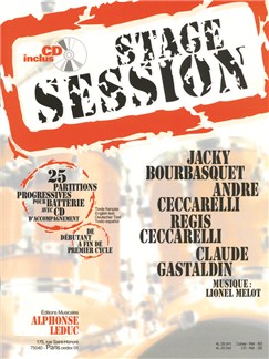 Stage Session Vol.1 (Book/CD) Books and CDs | Percussion, Drums