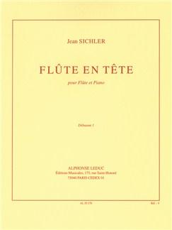Jean Sichler: Flûte En Tête (Flute/Piano) Books | Flute, Piano Accompaniment