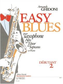 Armando Ghidoni: Easy Blues (Alto Saxophone/Piano) Books | Alto Saxophone, Tenor Saxophone, Soprano Saxophone, Piano Accompaniment