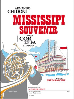 Armando Ghidoni: Mississipi Souvenir (Horn/Piano) Books | French Horn, Piano Accompaniment