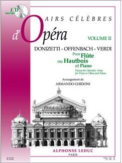 Various Composers: Airs célèbres d'Opéras Vol.2 (Flûte & Piano) Livre | Flûte Traversière