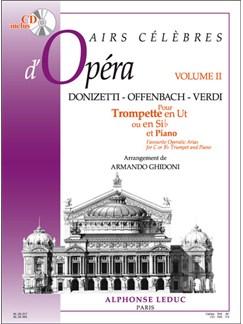 Airs Célèbres D'Opéras Vol. 2 (Trumpet/Piano) Books | Trumpet