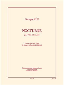 Hüe: Nocturne pour Flûte et orchestre réduction pour deux Flûtes de r. müller-dombois Livre | Orchestre