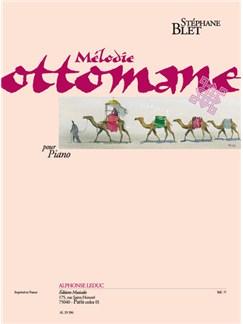 Blet: Mélodie Ottomane Pour Piano Buch | Klavier