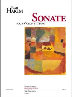 Naji Hakim: Sonate Pour Violon Et Piano Books | Violin, Piano Accompaniment