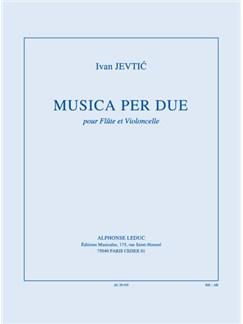 Jevtic: Musica Per Due Books | Flute
