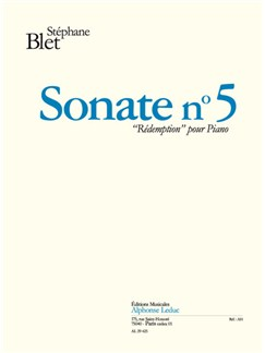 Blet: Sonate N°5 Books | Piano
