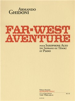 Armando Ghidoni: Far-West Adventure Books | Alto Saxophone, Soprano Saxophone, Tenor Saxophone, Piano Accompaniment