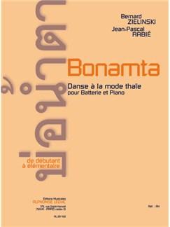 Rabie: Bonamta (deb. à elem.) pour batterie et Piano Livre | Percussion