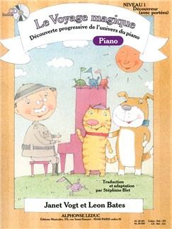 Le Voyage Magique - Cahier 1 Piano - Découvreur (avec portées) (avec CD) Livre | Piano