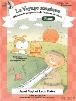 Le Voyage Magique - Cahier 2A Piano - Explorateur (avec CD) Livre | Piano