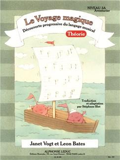 Bates: Le voyage magique (traduction et adaptation par Stéphane Blet) niveau 3a – aventurier / théorie Livre | Piano