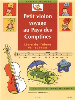Isabelle Dupont: Little Violin Travels In Nursery Tunes Land - Volume 1, Easy Books | Violin