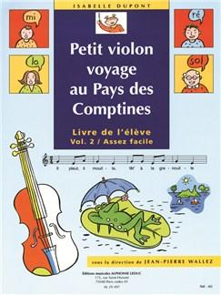 Wallez J.P.& Dupont I.: Petit Violon voyage Vol.2 (Violon Seule) Livre | Violon