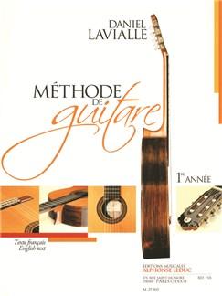 Lavialle: Méthode de Guitare (1ère année) texte français et anglais Livre | Guitare