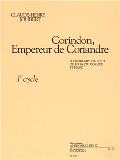 Claude-Henry Joubert: Corindon, Empereur De Coriandre Books | Trumpet, Cornet, Piano Accompaniment