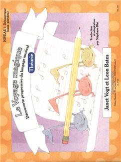 Le Voyage Magique - Cahier 1 Théorie - Découvreur (sans portées) Livre | Theory Books and Papers