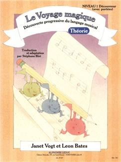 Le Voyage Magique - Cahier 1 Théorie - Découvreur (avec portées) Livre | Theory Books and Papers