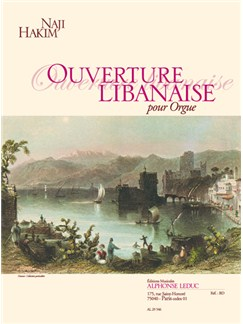 Naji Hakim: Ouverture Libanaise Books | Organ