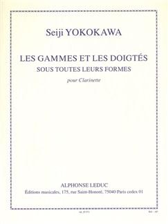 Seiji Yokokawa: Les Gammes Et Les Doigtés Sous Toutes Leurs Formes (Clarinet) Libro | Clarinete