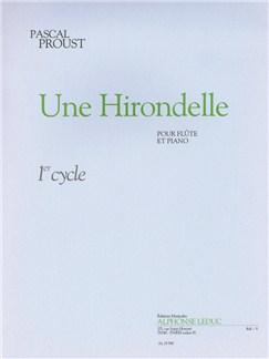 Proust: Une hirondelle (cycle 1) Livre | Flûte Traversière